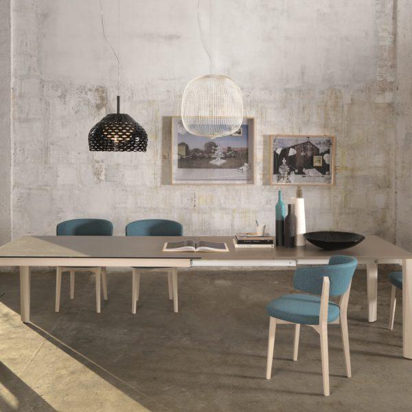 Tavolo Matrix T78 con Sedia Giorgia S156