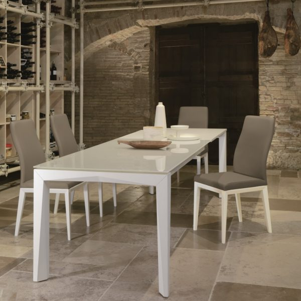 Tavolo Matrix T78 con Sedia Alyssa S118